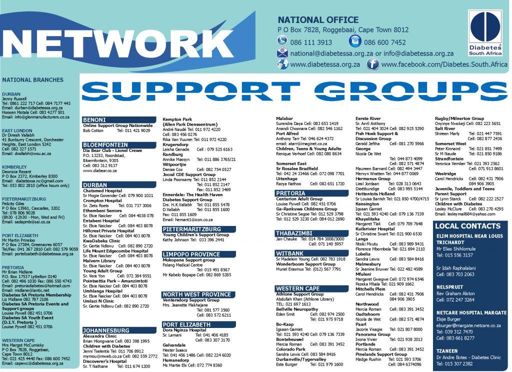 Support groups Diabetes Focus Winter2016