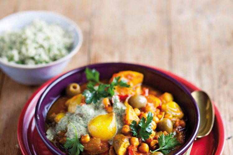 Root vegetable Chickpea Tagine