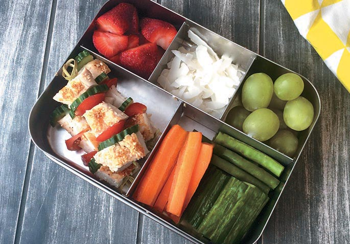 plan workday lunch box