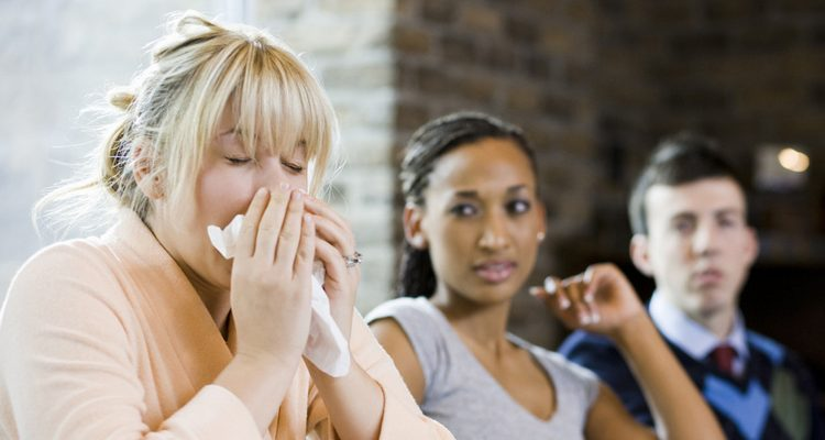 prevent spread germs workplace
