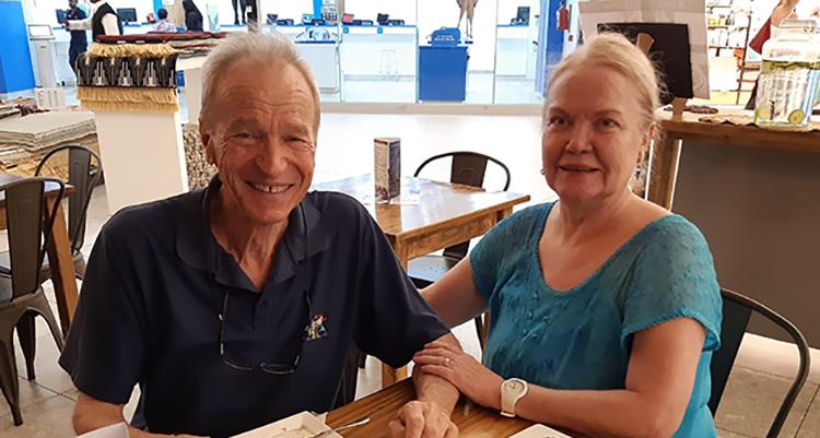 Rita and Tonie van Wetten